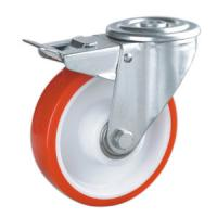 Industrial castors with bolt hole