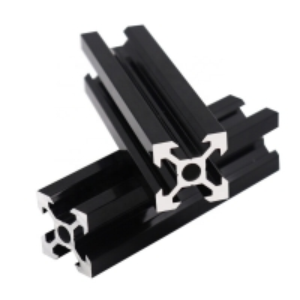 Best Black Anodized 80X80 Aluminum Assembly Line Extrusions wholesale