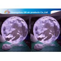China Multi - Color Inflatable Lighting Decoration Blow Up Moonlight Ball Air Balloon on sale