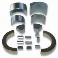 Best Nickel/Zinc/Gold Coated NdFeB Arc Magnet, Used in Switchboard and Phone wholesale
