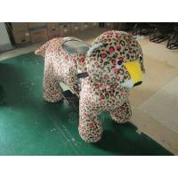 Best Plush Animals Motorized Stuffed Animals To Paint Coin Operated Battery Animals wholesale