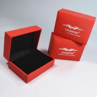 Cheap Wedding Ring Box Jewelry Double Ring Case Jewellery Packaging Boxes for sale