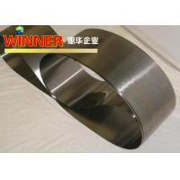 China High Tensile Tension Pure Nickel Strip With Good Dry Fluorine Resistance on sale