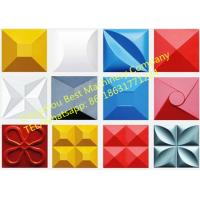 China Hydraulic 3D Wall Tile Roof Color Steel Panel Making Machine PLC Control System on sale