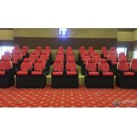 Best Professional Scene 5D Movie Theater For Indoor Mini Cabin Cinema Red / Black Color wholesale