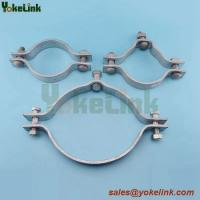 Best 2-way/3-way/4-way Adjustable Type Single Offset Pole Band/Pole Hoop Clamp wholesale