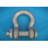 Best High Strength Forged Shackle Used for Tract Wire Rope and Other Tools in Construction wholesale