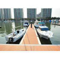 Best Floating Pontoon Bridge Aluminum Structure Bridge Boat Dock For Marina Yacht wholesale