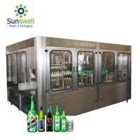 Best Automatic Beer Bottle Filling Capping Machine Beer Filling Machine for Glass/Plastic Bottle wholesale
