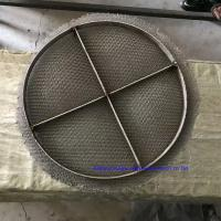China Compressed Stainless Steel Knitted Wire Mesh Pad Customized Filters Application on sale