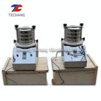 China High Frequency Lab Sieve Shaker For Soil Aggregate Sample Grading on sale
