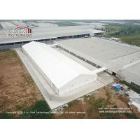 Best 40m Width Aluminum Frame Industrial Storage Tents With Ventilation Windows wholesale