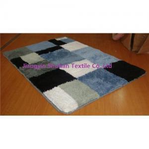 China Microfiber bathroom mat on sale