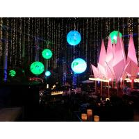 Best Dimmable Inflatable Moon Balloon Light 640W High Illumination Events Lighting wholesale