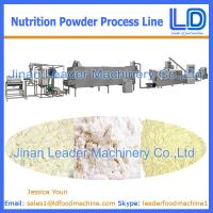 Best Nutrition powder/baby rice powder process line wholesale