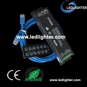 Best High Output Impedance 12V / 24V / 200W Power RGB Led Controllers LR-CW-B wholesale