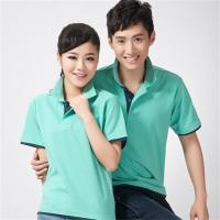 Best Summer Short Sleeve Cotton Polo Shirts Cuffs Contrast Two - Tone Splicing wholesale