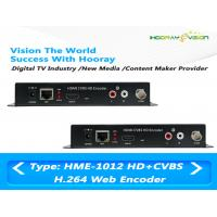 Best MPEG-4 AVC / H.264 HDMI CVBS Video Digital TV Encoder Support Web Protocol wholesale