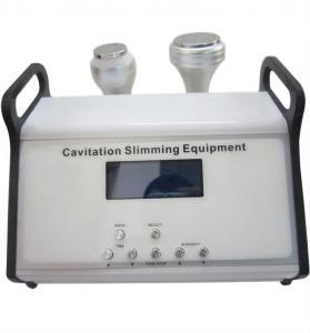 Best Desktop Double Ultrasonic Liposuction Cavitation Slimming Machine For Fat Burner , 1mhz wholesale