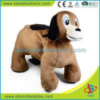 Best Plush Riding Animals Stuffed Animals Plush Wheels Happy Rides On Animal wholesale