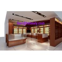 Buy cheap High end shop-in-shop jewellery display cabinets and timber veneer showcases product