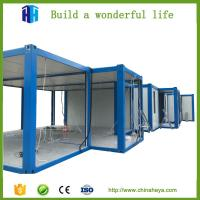 China Wide Application Container House Prefab Modular Building House on sale