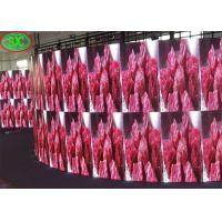 China Slim Curve Outdoor Advertising Stage LED Screens P4.81 / P3.91 High Refresh Rate on sale