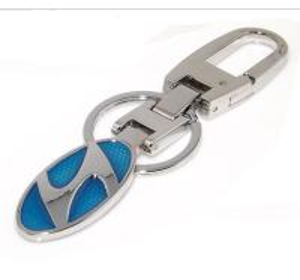 Best Metal Hyundai sedan logo key chain, alloy Hyundai auto logo brand key holder,ready mold, wholesale