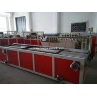 China PVC Skirting Board Double Screw Extruder Machine for Window and Door Profiles on sale