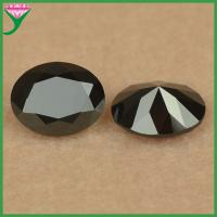 Best factory price high quality good luster oval nano black spinel price wholesale