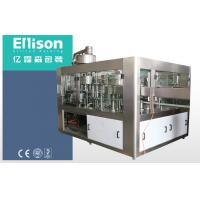 Best Double Vaccum Plastic Bottle Carbonated Beverage Filler With Counter Pressure Method wholesale