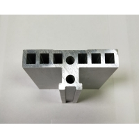Best Mill Finish Anodizing Silver CNC Machining Extruded Aluminum Profiles wholesale