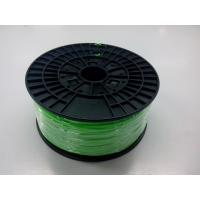 China Flourescent Green 3D Printer ABS Filament Spool 1.75mm For Objet 3D Printers on sale