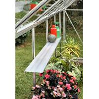Best greenhouse shelf with white color wholesale