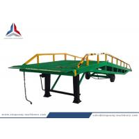 China 12 Tons Mobile Movable Hydraulic Dock Loading Ramp for Container on sale