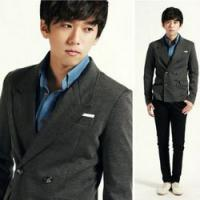 China 2012 mens suit design ,men casual suit in chino on sale