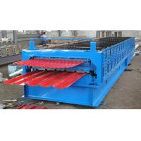 China 0.25-0.8mm IBR Corrugated Sheet Forming Machine With 18 Stations , 1-3m/min on sale