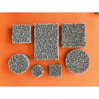 Best High Porosity Sponge Filter Material Three Dimensional Connected Mesh Structure wholesale