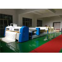 China Computer Guided Single Needle Quilting Machine 2.4M With Outsize Rotary Shuttle on sale