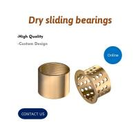 Best Wrapped Split Type Bronze Bushing CuSn8P DIN 1494 / ISO 3547 For Containers wholesale