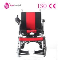 Lightweight Portable Electric Wheelchair , Foldable Motorized Wheelchair JRWD501