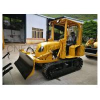 Buy cheap New Streamlined 35hp Mini Bulldozer Manual Clutch Compact Dozer with Six-Way Blade from wholesalers