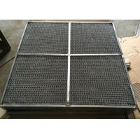 Best 1000mm * 1000mm Air Inlet Filter Mesh Pad With Screen Grids And Plate Edge wholesale