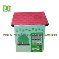 Best Customization Cardboard Cat Scratcher House Display For Pet Retailers , Eco Friendly wholesale
