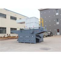 Best Security Solid Waste Single Shaft Shredder Electrical Control Independent Power System wholesale