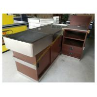 Best OEM Supermarket Checkout Counter / Stainless Steel Cash Register Table wholesale
