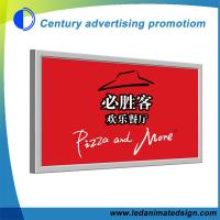 China Super slim led light box on sale