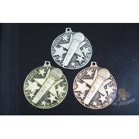 Best Die Casting Custom Metal Engraved Music Medals, 3D Design With Gold Silver Copper Plating wholesale