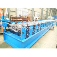 Best Steel Metal Roof Panel Roll Forming Machine 75mm Shaft Diameter 14000*1550*1550mm Size wholesale