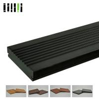 Best Bamboo Deck Tiles 1220 Kg/M³ 18mm Density With Charcoal Surface Treatment wholesale